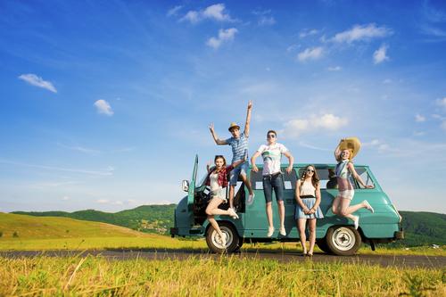viajes con amigos
